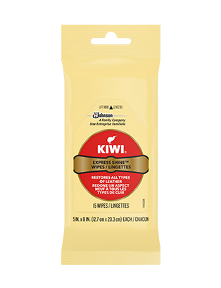 KIWI® Express Clean & Shine Wipes