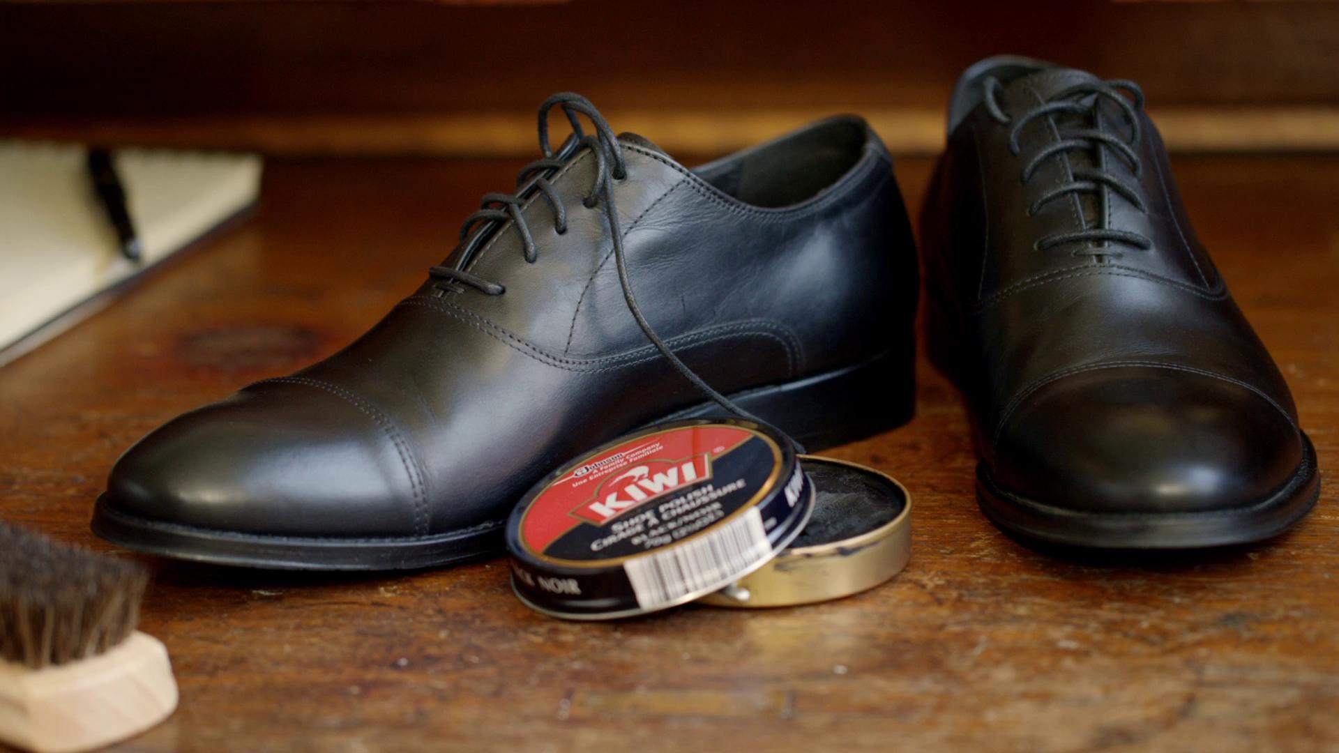 Kiwi Shoe Polish Kit Products